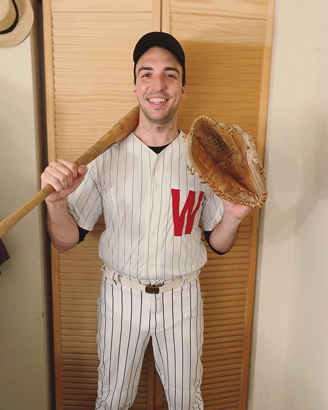 Are you a pitcher or a catcher? Happy closing Damn Yankees! #Vers