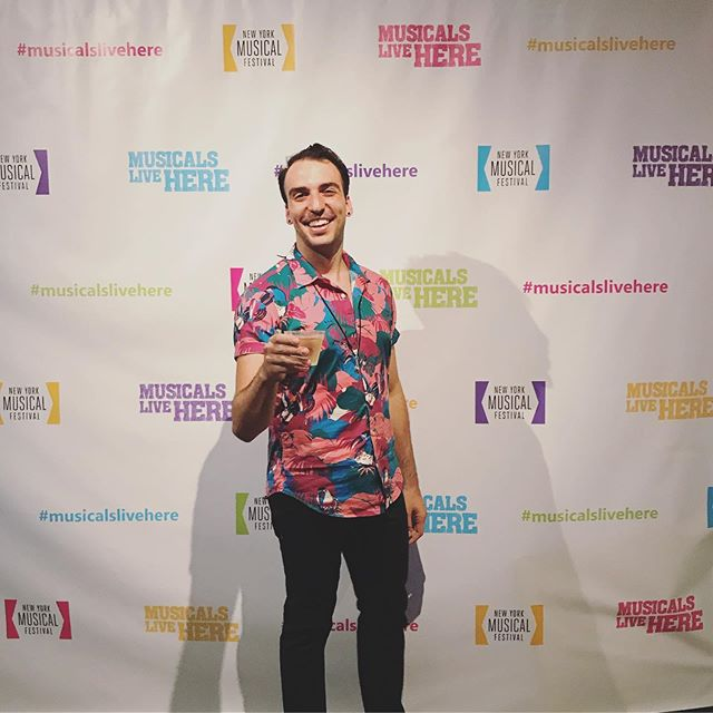 Cheers to CHANCE, and have a great run!  I'm so happy to be a part of #NYMF again this year, and work with this AWESOME team!  #Choreographer #musicalslivehere
