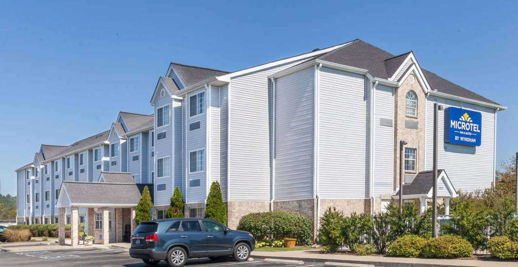 Microtel Inn & Suites by Wyndham Nashville (Smidgen over 2 miles to event)  100 Coley Davis Rd Nashville, TN 37221 615-662-0004  Hotel details: his subdued hotel off I-40 is 6 miles from Belle Meade Plantation and 13 miles from downtown Nashville.   Casual rooms have free Wi-Fi, flat-screen TVs and desks. Upgraded rooms add minifridges and microwaves, while suites feature kitchenettes and separate living rooms with pull-out sofas. Kids age 17 and under stay free with an adult.  The hotel offers complimentary continental breakfast and parking. Other amenities include an outdoor pool and a business center.  Free Wi-Fi Free breakfast Free parking Outdoor pool Air-conditioned Business center