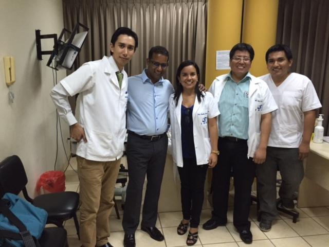 Dilip Thomas, MD in Trujillo, Peru