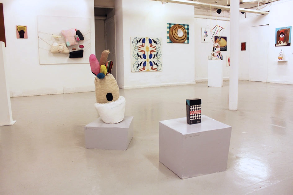 Exhibition overview.