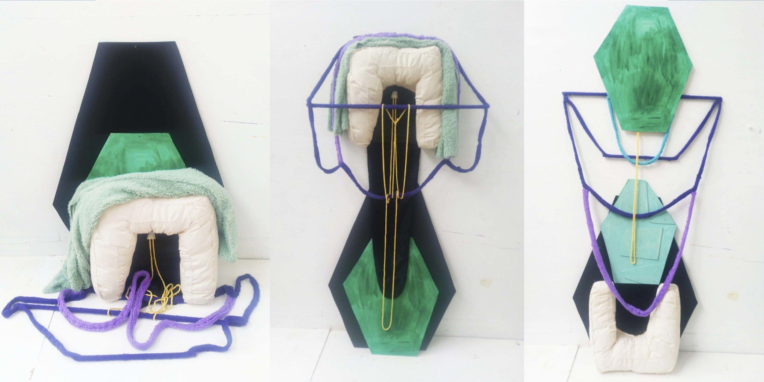 """Marie J.Engelsvold. """"My sculpture process"""" 2019"""