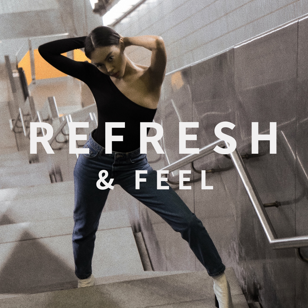 REFRESH & FEEL - CHANGE YOUR MINDSET & TACKLE THE NEW YEAR.FOLLOW & LISTEN ON APPLE MUSIC AND SPOTIFY.
