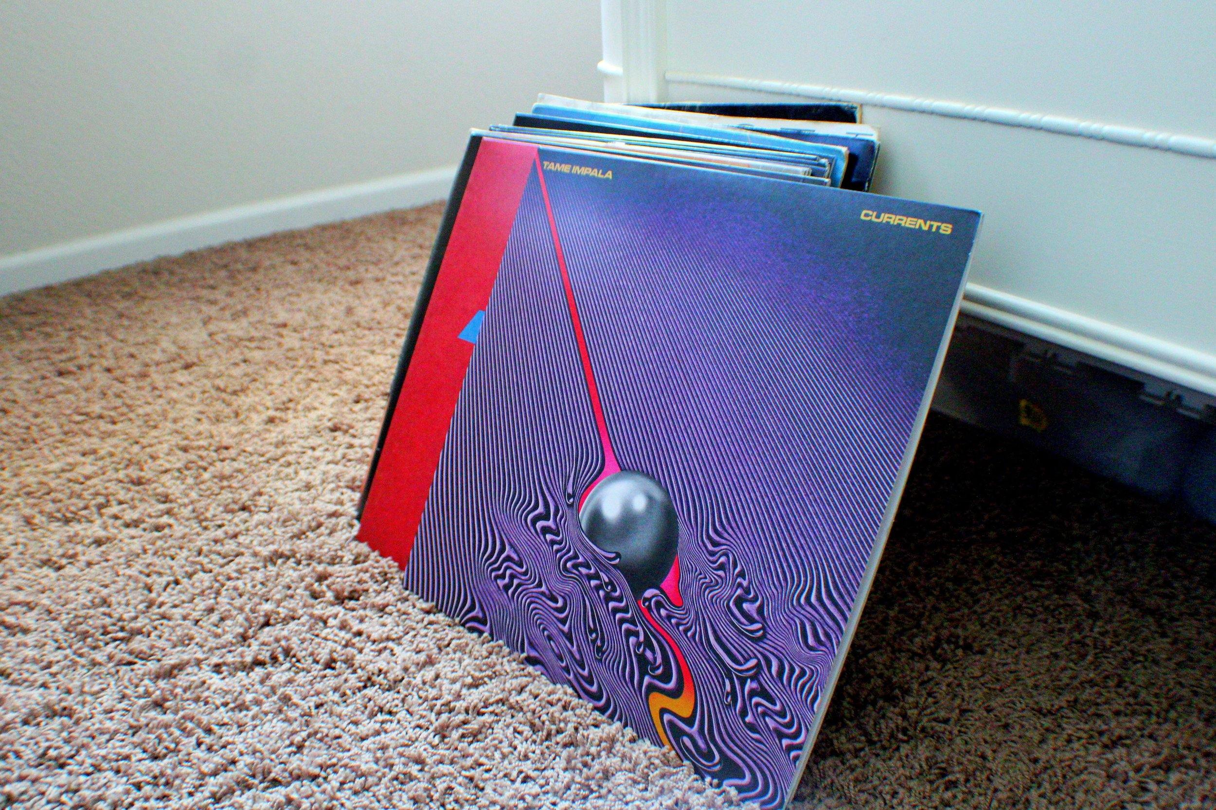 Record: Currents by Tame Impala, 2015