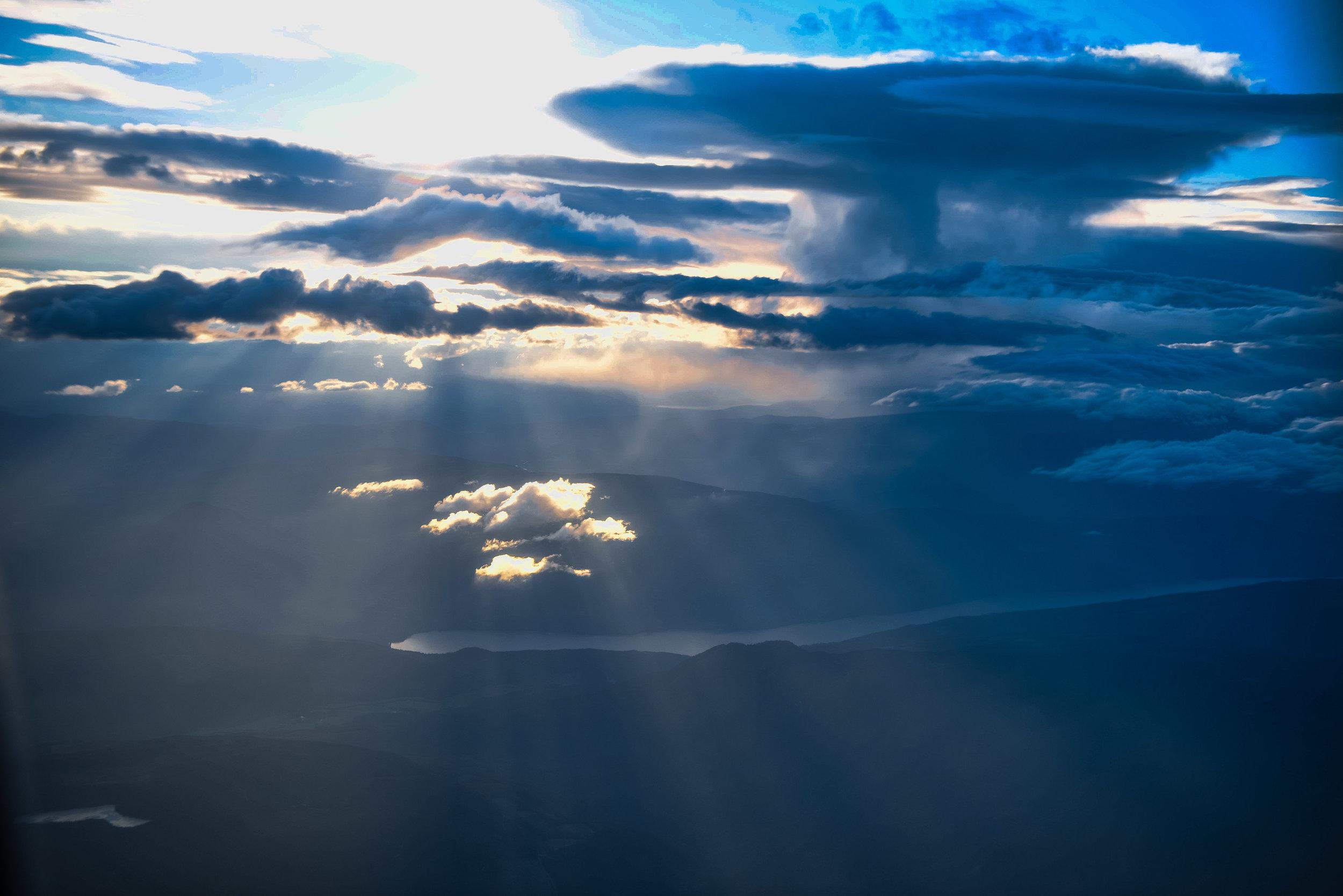 Landing In Kelowna - WestJet