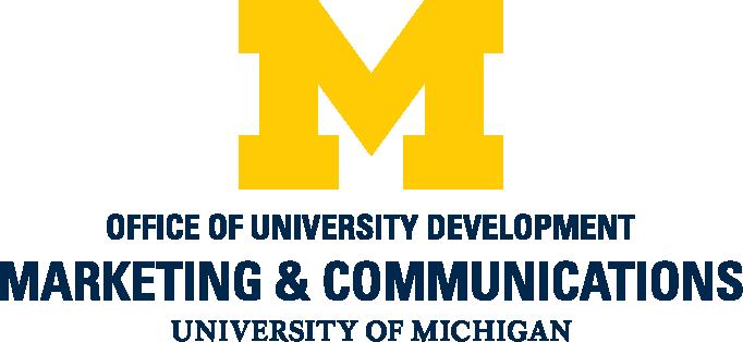 Office of University Development, Marketing & Communications, University of Michigan