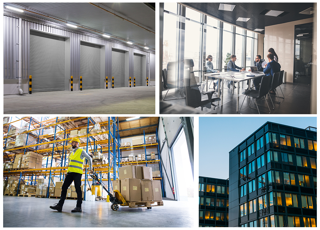 Types of Commercial Property - From offices and workshops to warehouses and outdoor storage. Find out about the types of commercial space available.