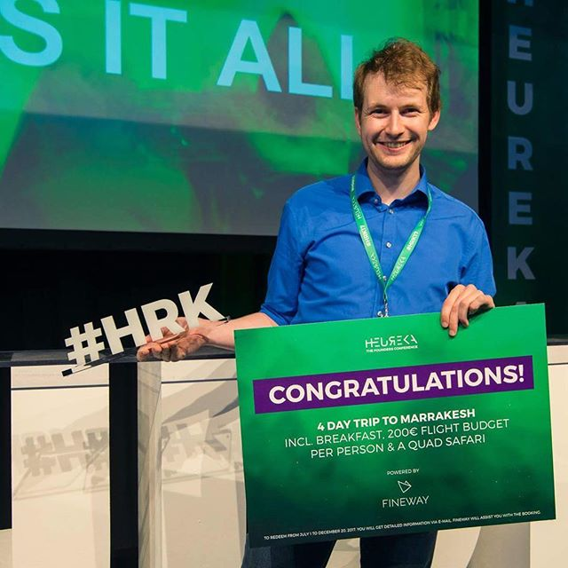 Proud partner of founders conference Heureka 2017. #hrk17 #startup