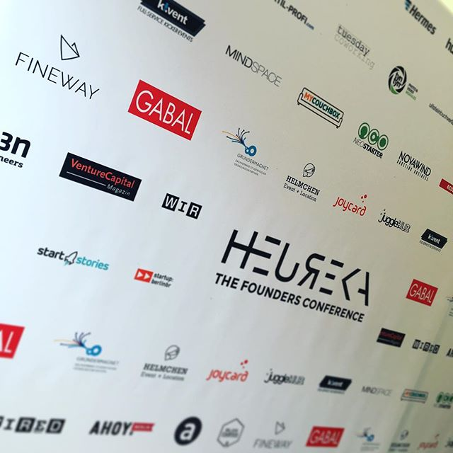 Proud partner of founders conference Heureka 2017. #hrk17 #startup #founders