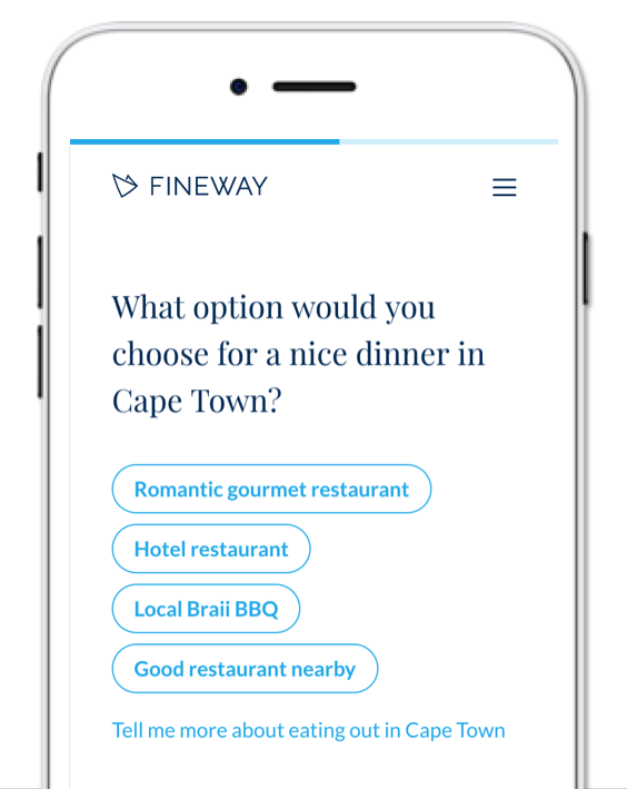 Join Fineway > Our Mission  Our Team  Our Tech  Your next job