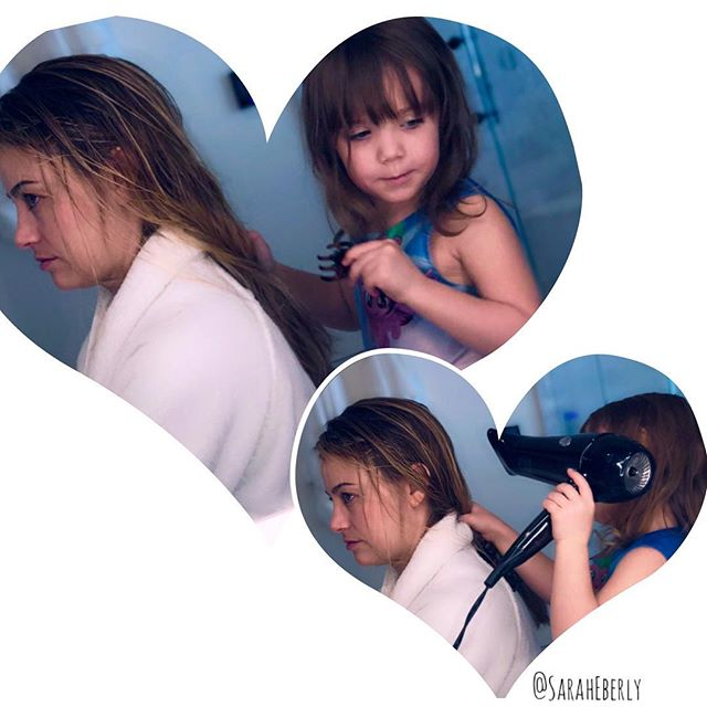 Melted my heart to receive these photos from an amazing friend and client 💕Watch out! Ava the hairstylist in the making 😎  Thank you Amber and Cj for all your aloha, inspiration and friendship.