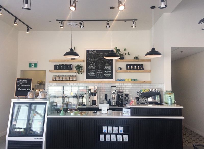 COFFEE - We proudly serve Transcend coffee & espresso. Transcend is a roaster based in Edmonton, AB who takes its craft to the next level. They are Direct Trade - meaning they meet and maintain relationships with the farmers at the source, all for a perfect and responsible cup of coffee.