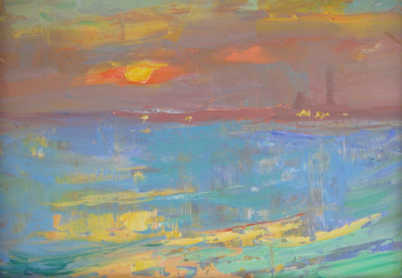 Sunset Title. 2017.