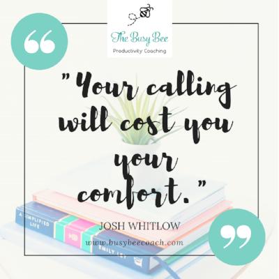 Calling over Comfort