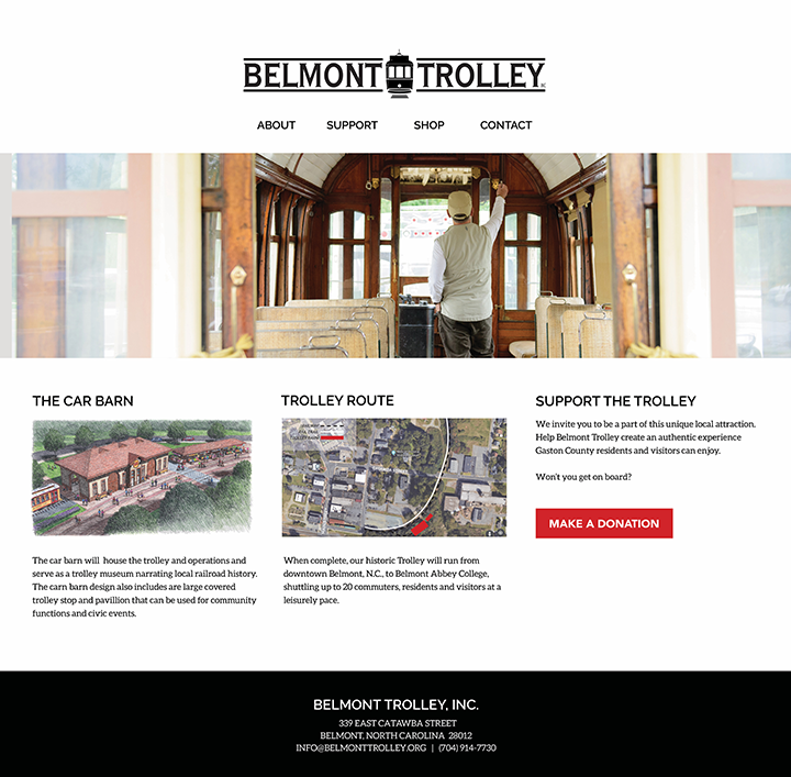 Trolley Web Site Wire Frame.png