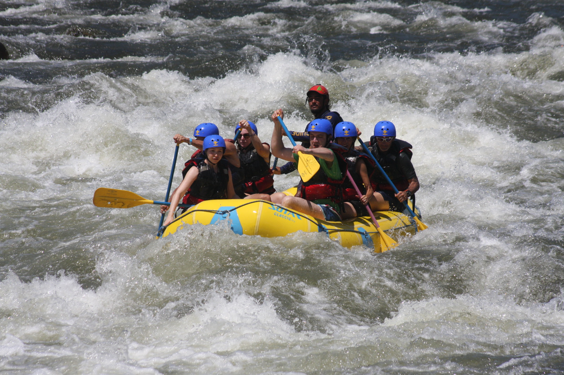 Rafting Sarapiqui River, photo by Allan Baldi
