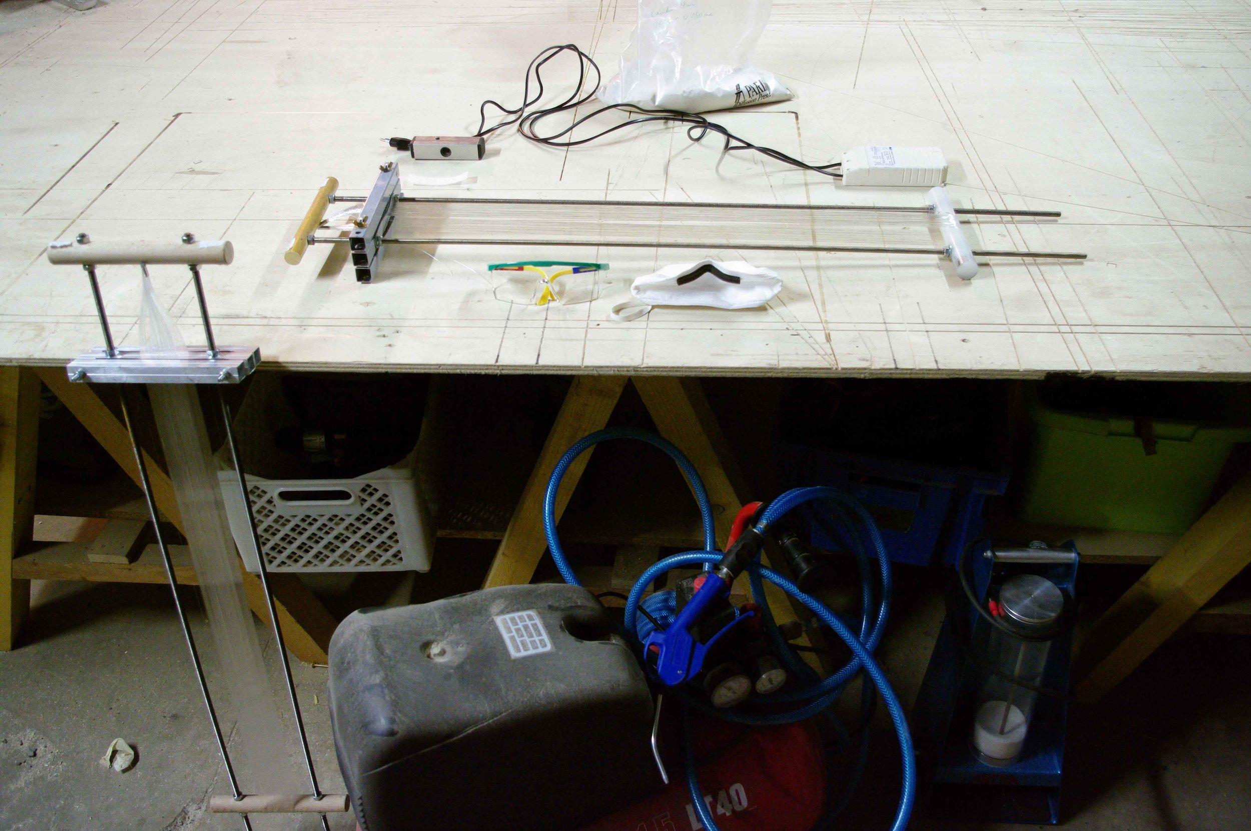 Workshop set up