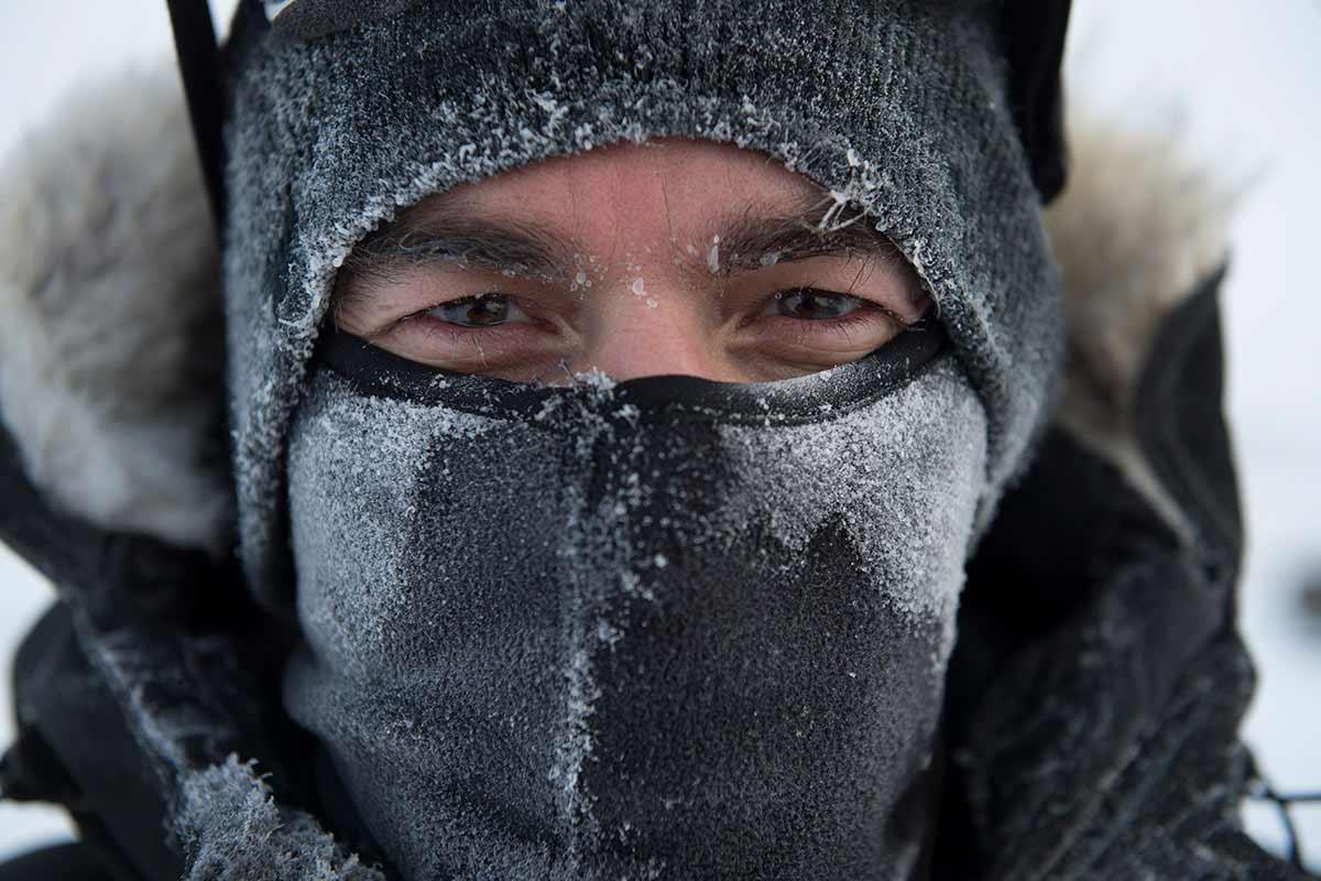 Neil Ever Osborne in the field. South of Cambridge Bay, Nunavut. © Michelle Valberg