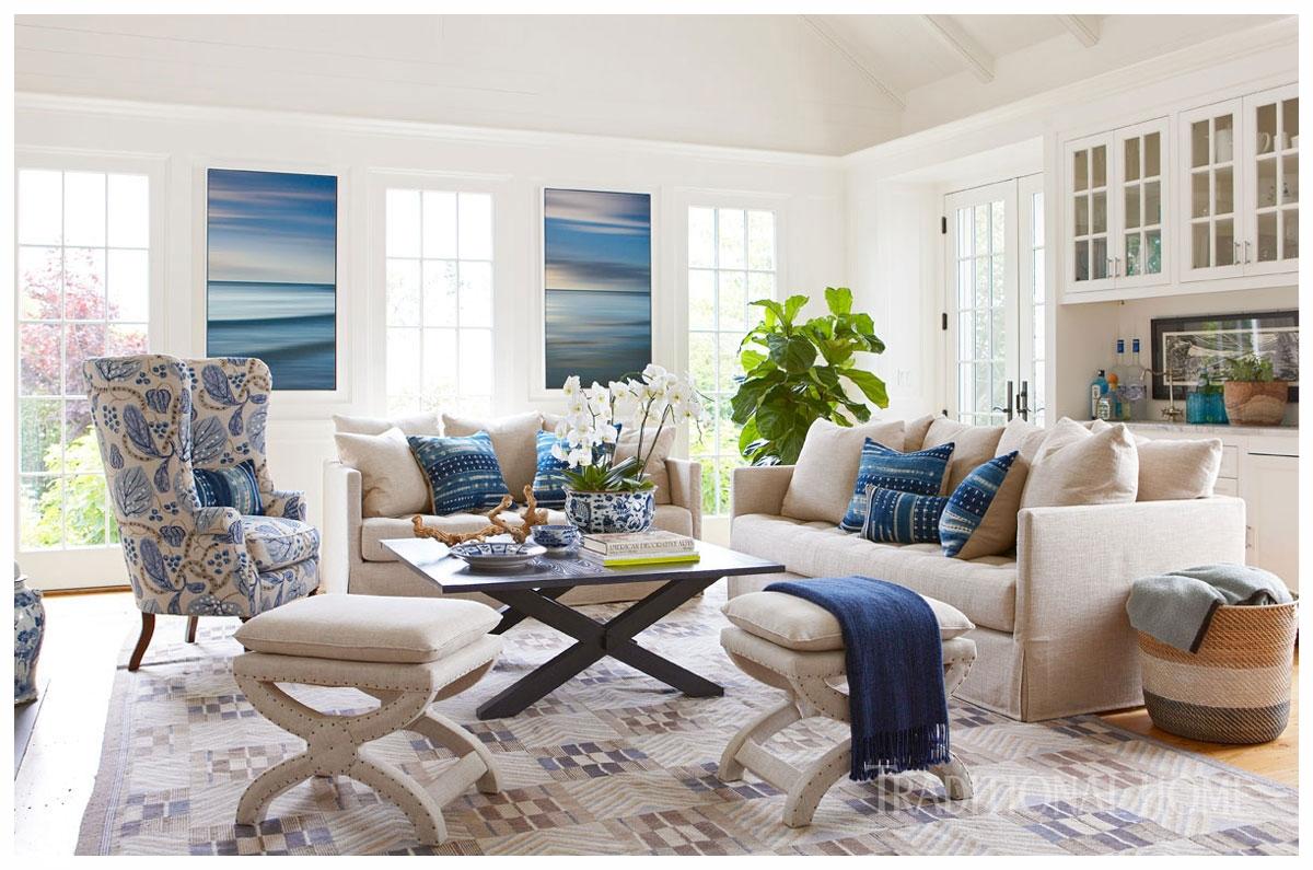 Photography credit to Michael Partenio via Nancy Serafini Interior Design