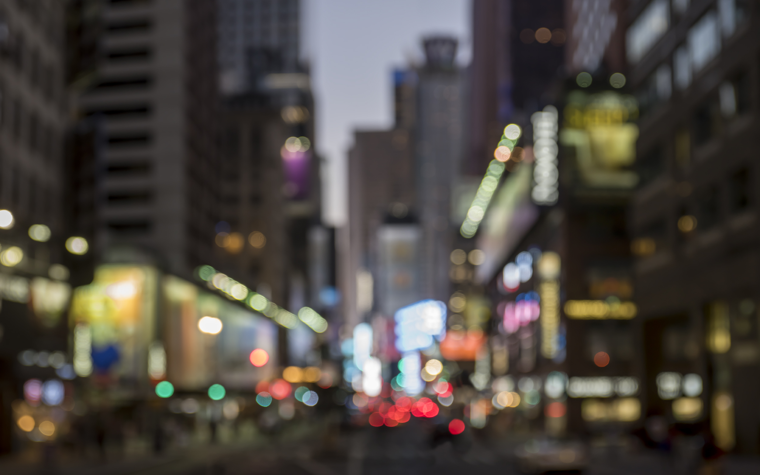 """Dusk Times Square '87228' 56.25x91.25"""" Edition 1/1 in Custom Frame"""