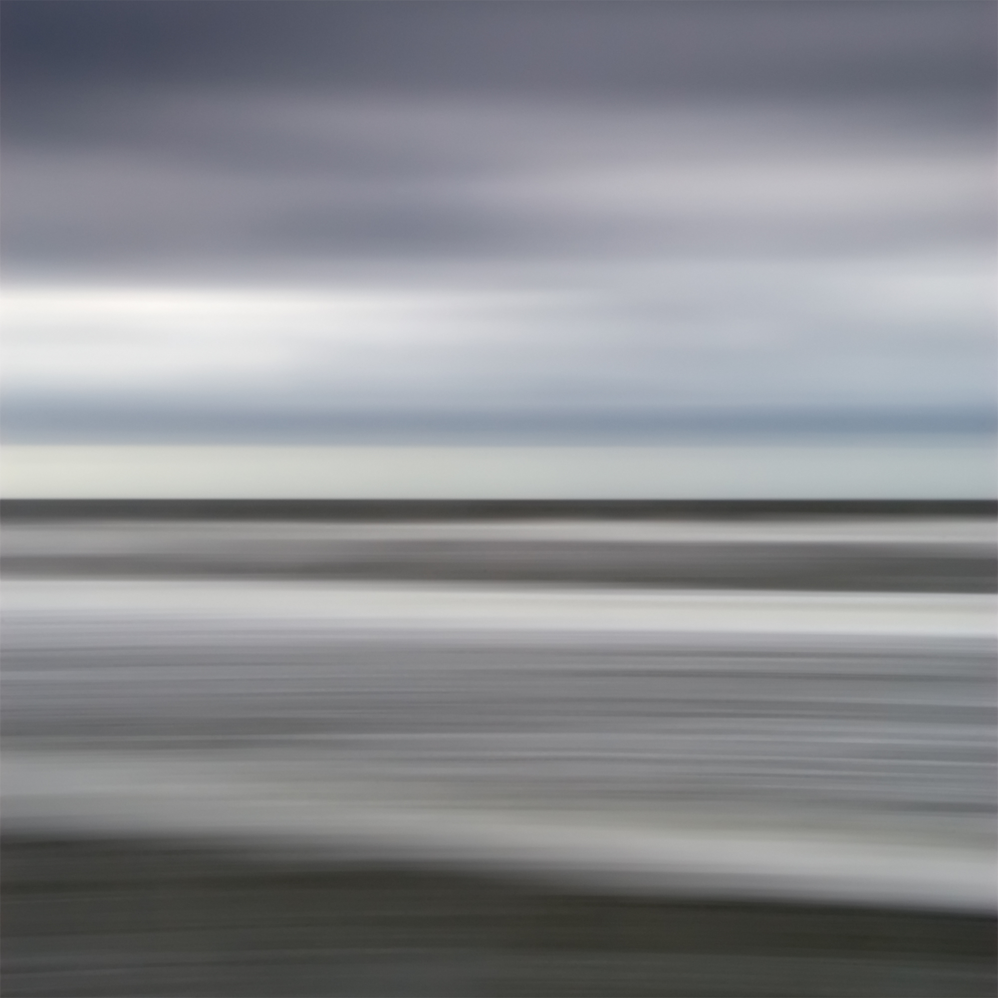 "Folly Beach '26627' 40x40"" Edition 1/5 on Plexi in Black Frame"