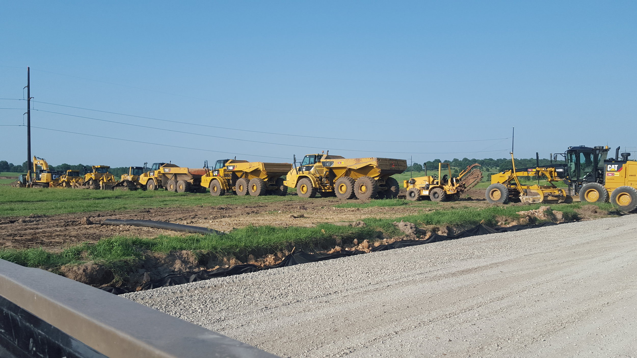 Some Of Our Heavy Construction Equipment