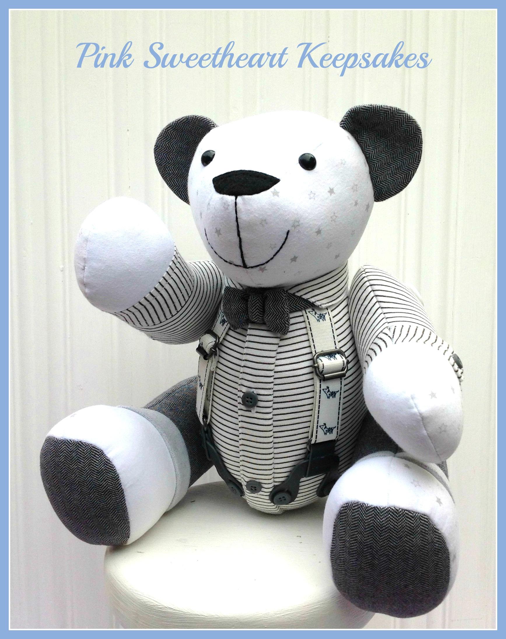 George's Christening Bear