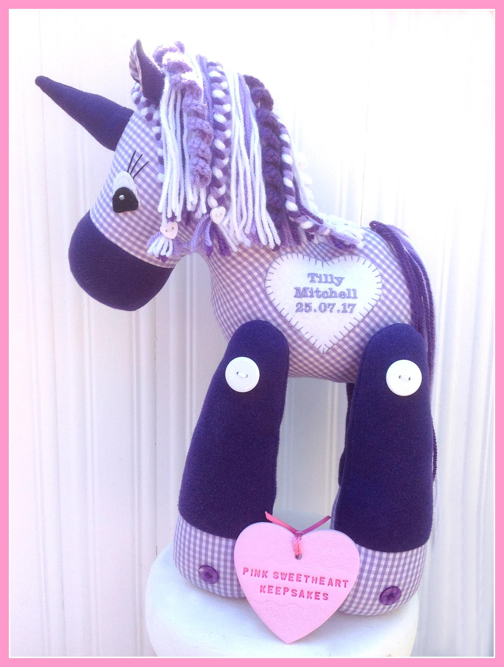 Tilly's School Uniform Unicorn
