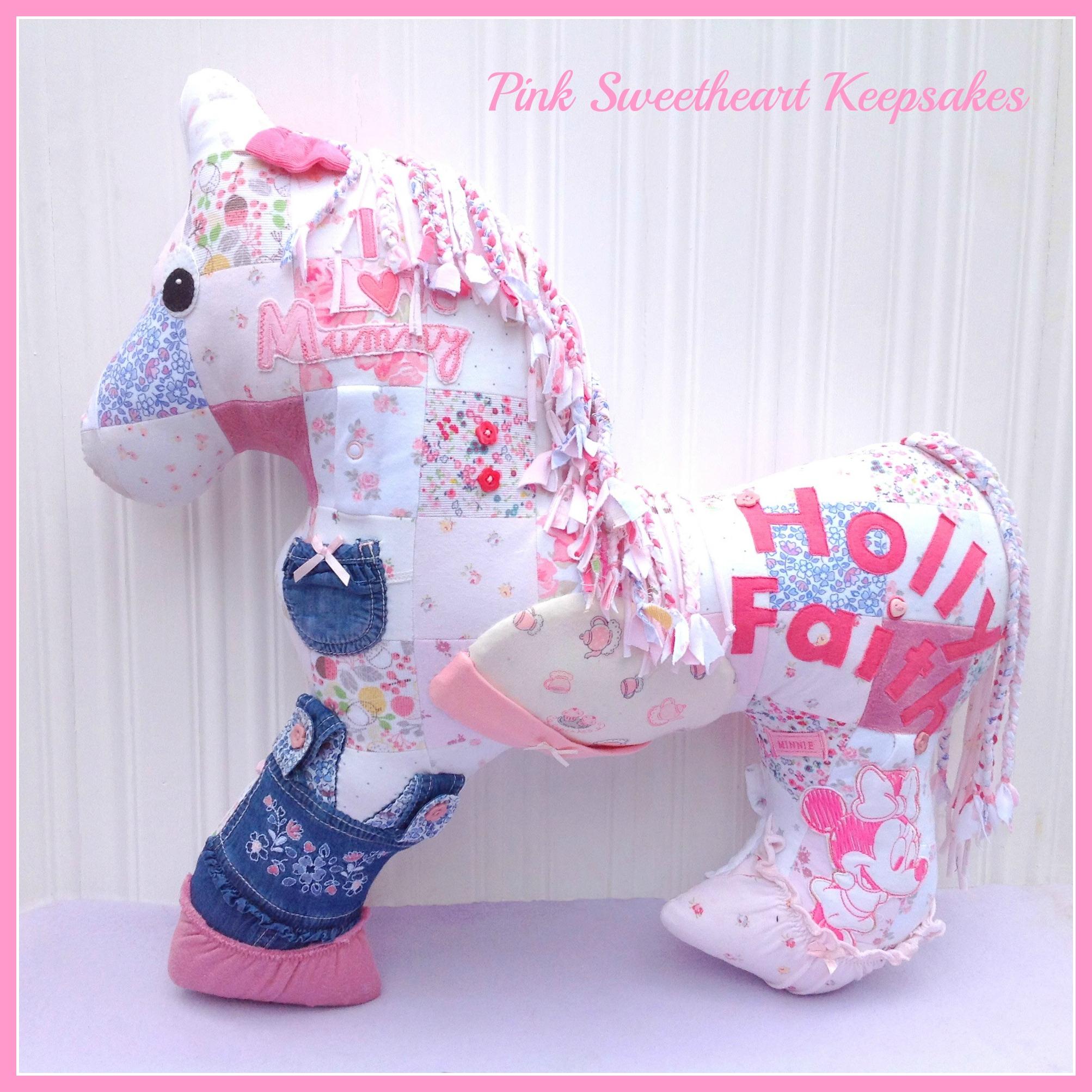 Holly's Horse Cushion