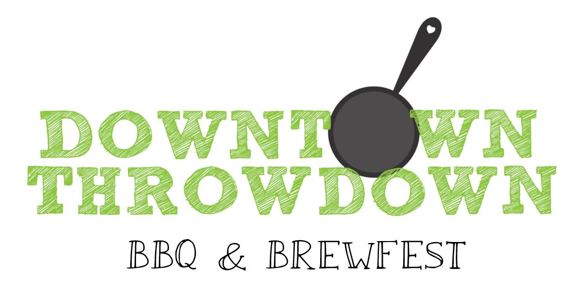 Downtown Throwdown BBQ and Brew logo