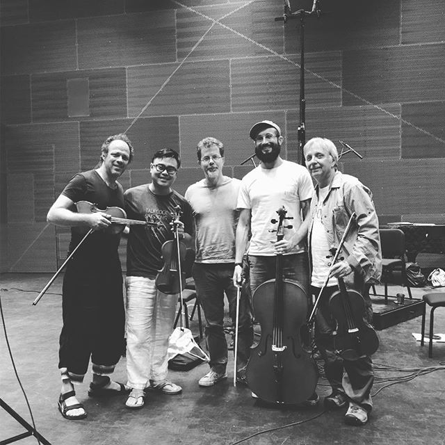 It's not easy to graduate from an ivy league school. It's not easy to do a recording session either. But if we get to choose, we would still choose recording. Big thanks to Dmitri Tymoczko for having us play his piece!