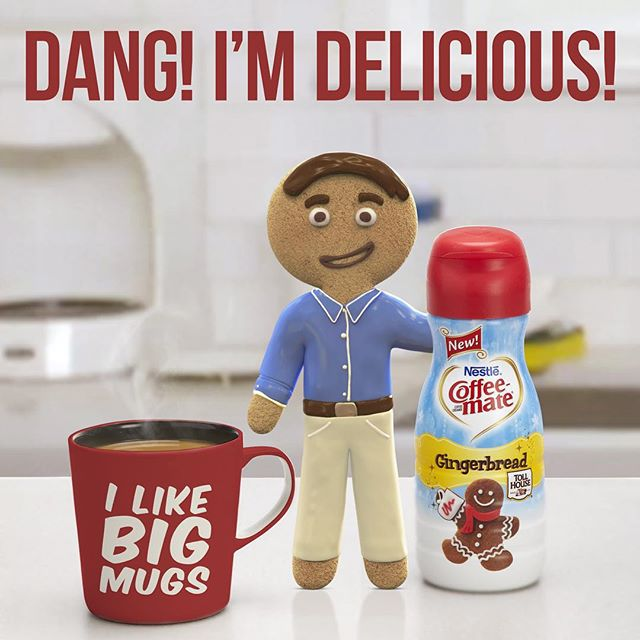 I may need therapy in the future but who cares - I'm lovin' the taste of our new Gingerbread flavor! #GingerbreadJoel