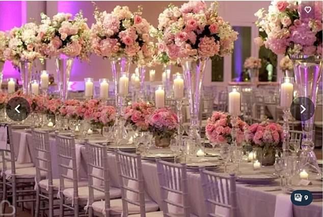 Bride's Expectation - Bride Cher Austin dreamed of a magnificently laid-out spread, pictured, to celebrate her marriage and thought 'venue dresser' Michelle Hargreaves' business would be able to provide it. Read more...