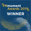 PRmoment Awards Winner 2019