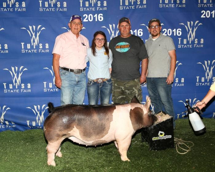 Champion Division 2 Gilt | Tulsa State Fair 2016