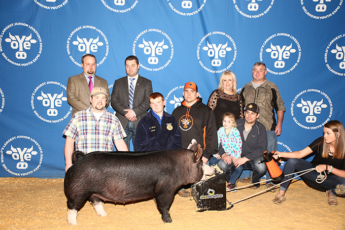 8th Overall Berk |Oklahoma Youth Expo 2017
