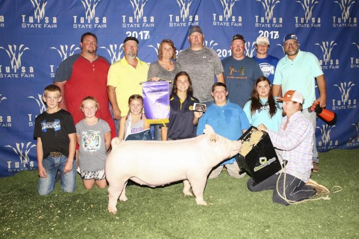 Champion York Barrow |Tulsa State Fair 2017