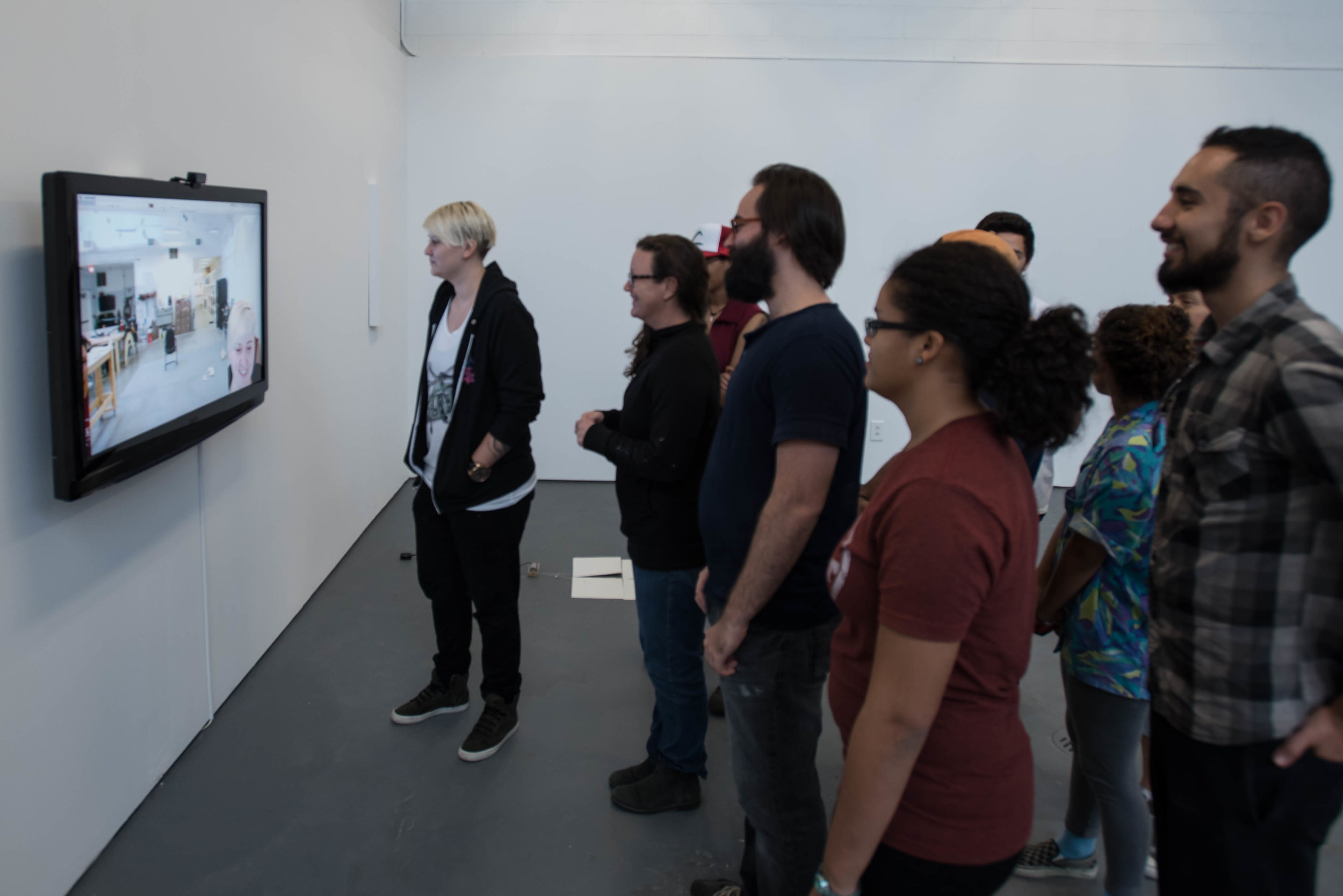 Like You're Not Even There (installation view)