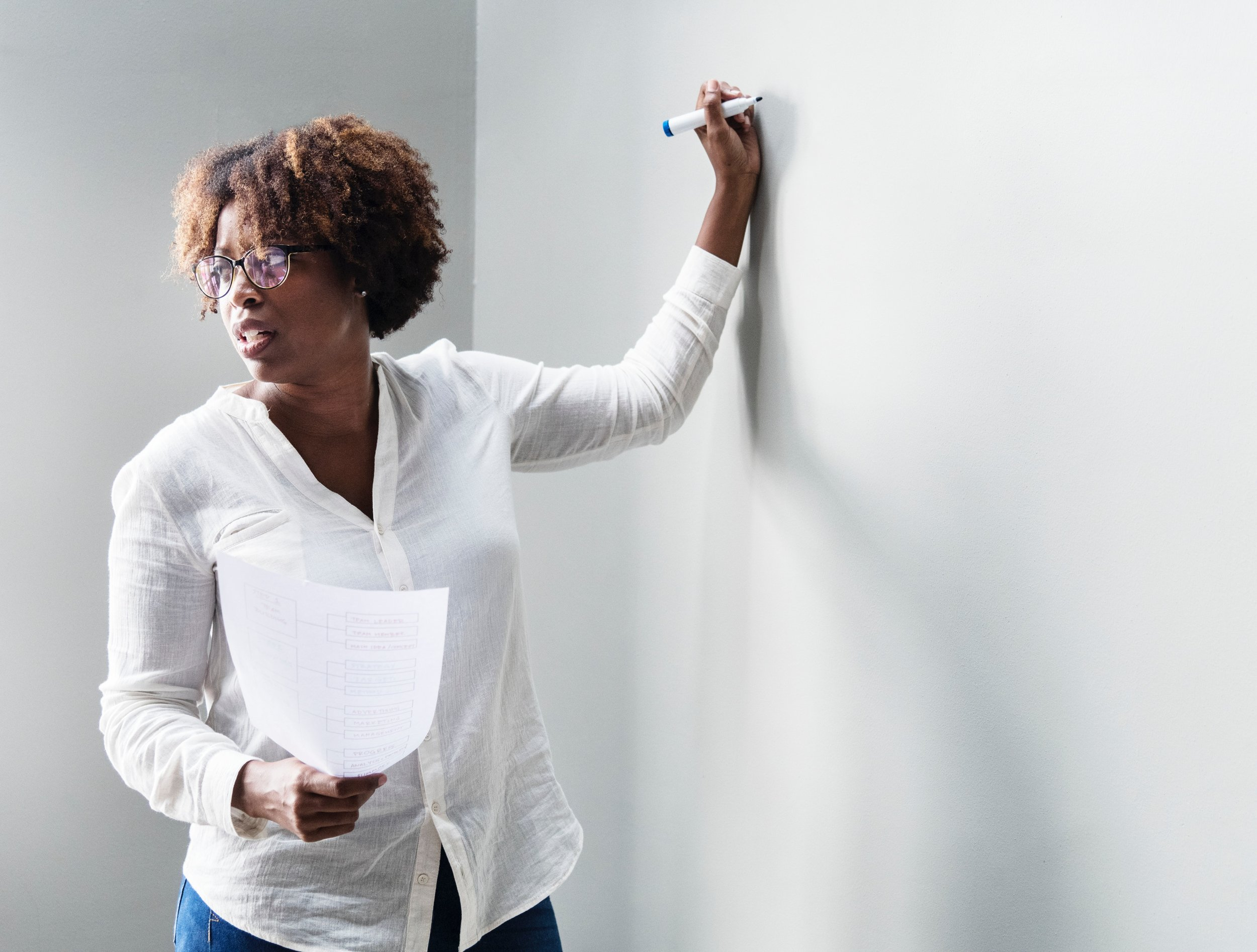 Invest in Personal Development - Understanding internal and external barriers to self-sufficiency and developing ways to overcome them is critical to succeeding in a new career.