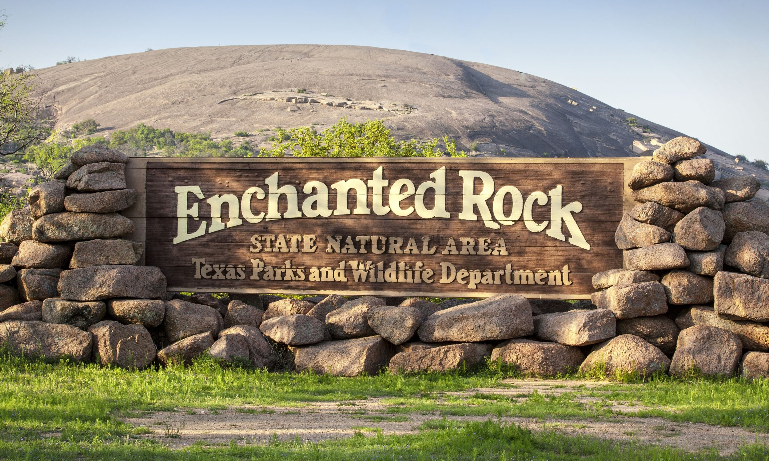 Enchanted Rock- Father Daughter - March 2020