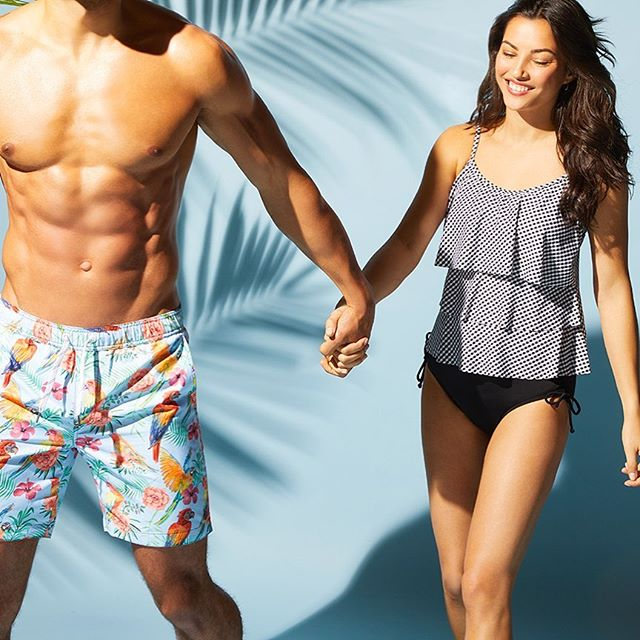 It's almost the weekend! Step out in some #CaribbeanJoe swim and chase that good weather! Link in bio to shop swim for men and women!