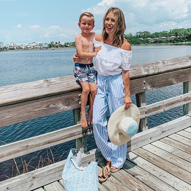 @lipstickheelsandababy and baby looking great in their CJ looks! Link in bio to find styles for the whole family!