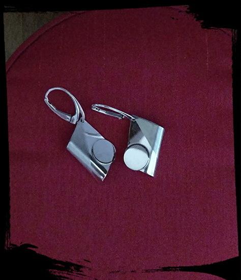 Artsy Silver Earrings