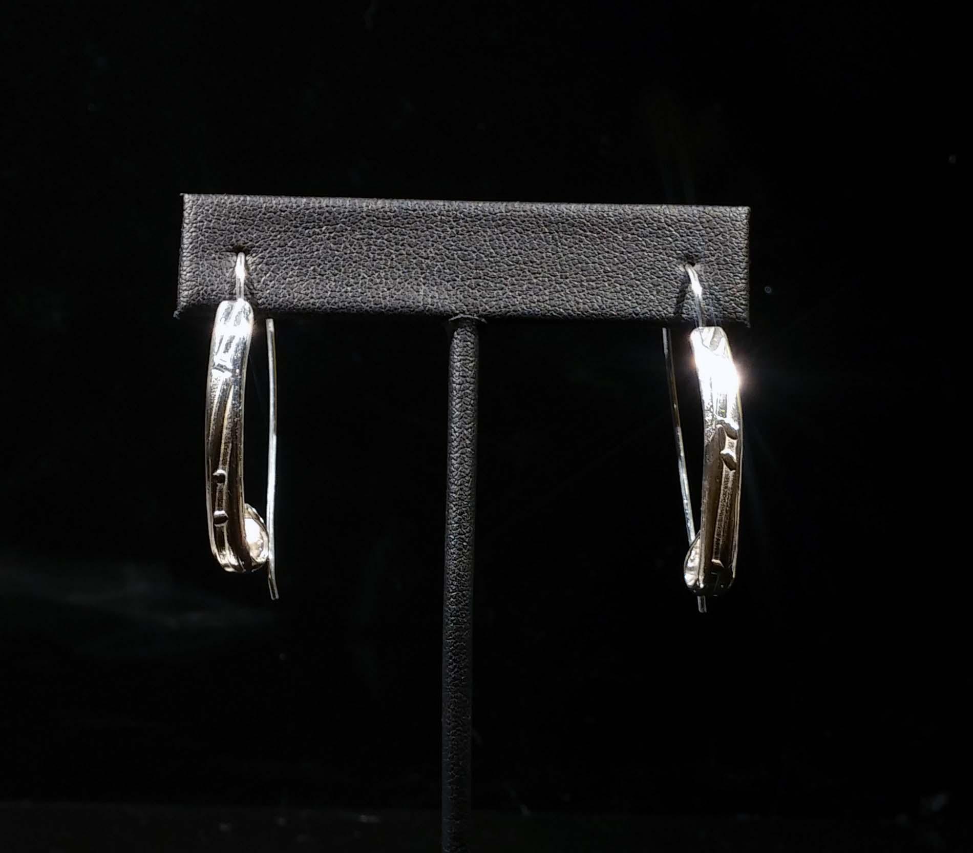 Patterned Wire Earrings