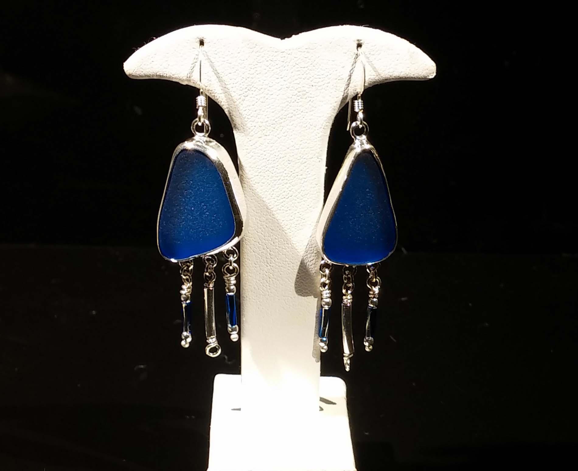 Seaglass Beads Earrings