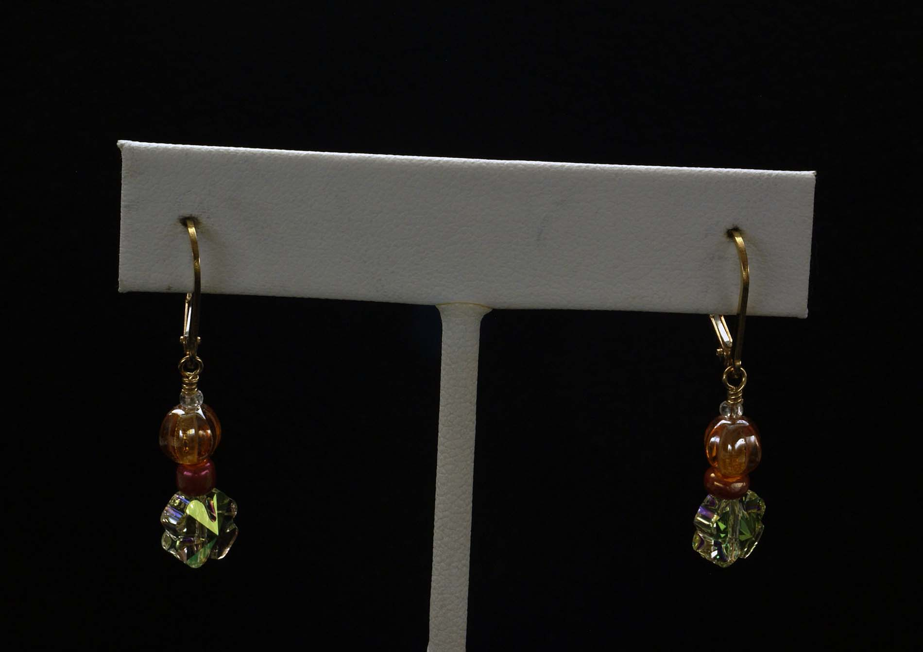 Small Bead Earrings