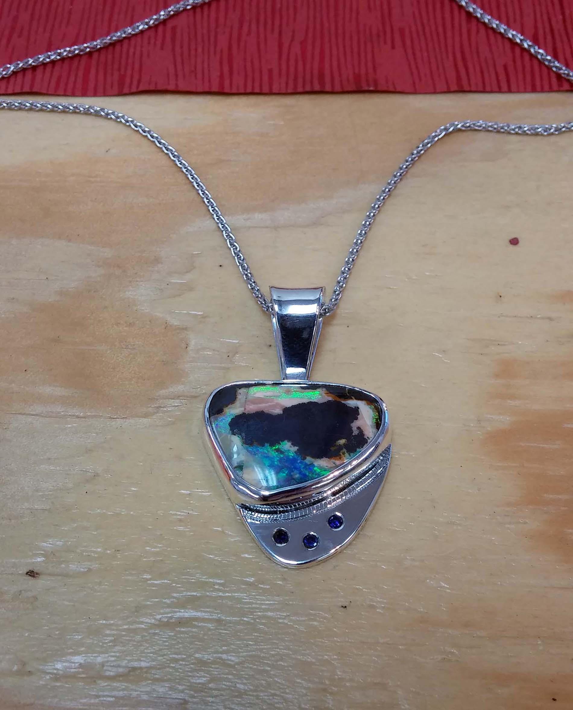 Boulder Opal Gems Set