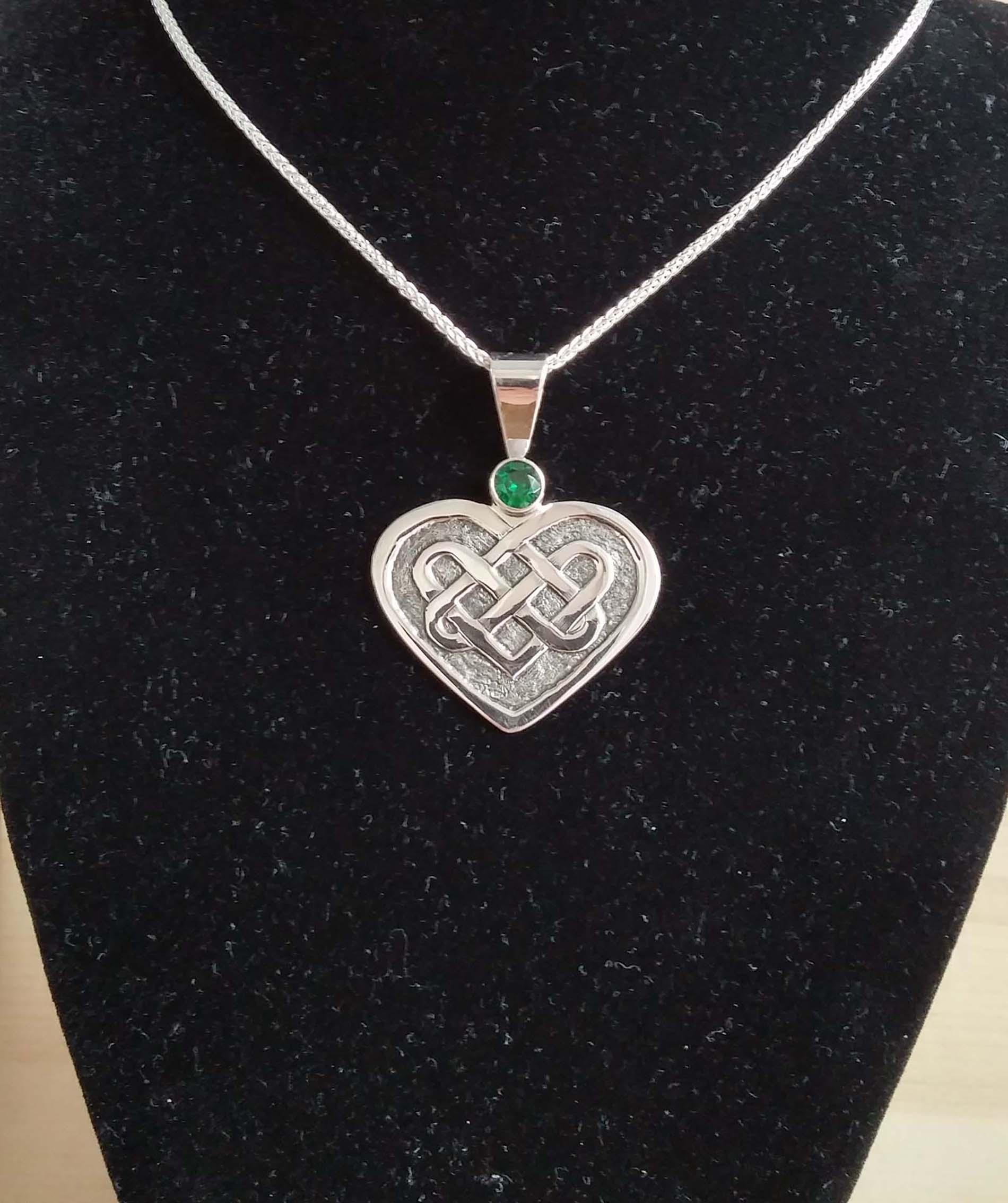 Engraved Celtic Pendant