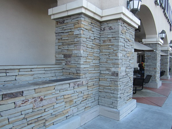Oklahoma Sandstone - Cameron Full Color Ledge