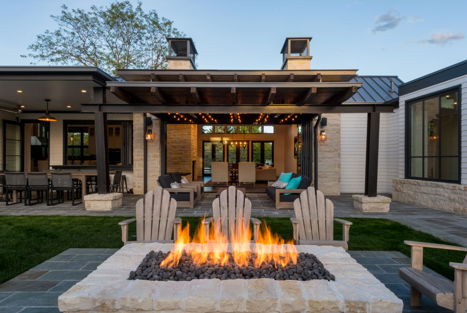 Fire Feature - Cottonwood